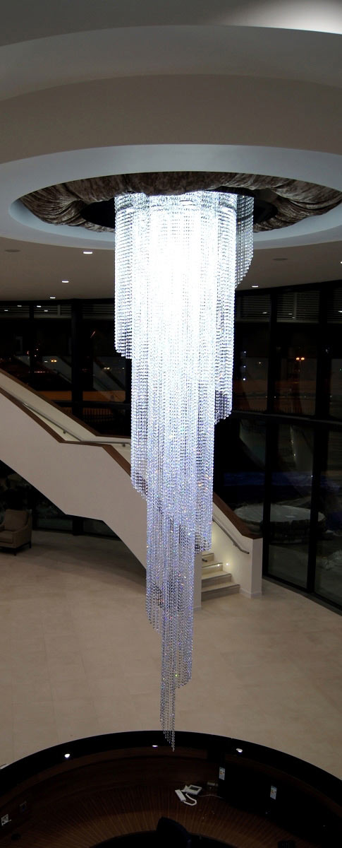 Corporate Crystal Chandeliers