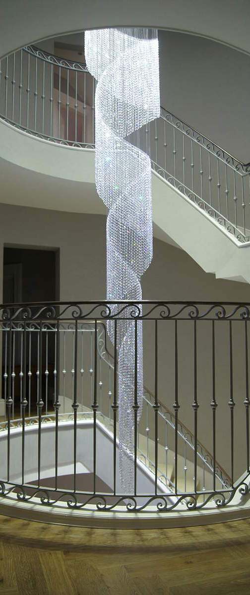 Contemporary LED Crystal Chandeliers